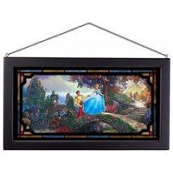 Framed Glass Art - Cinderella