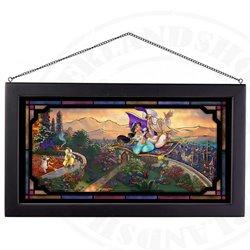 Framed Glass Art - Aladdin