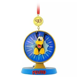9257 Sketchbook Ornament - Pluto