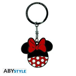 Metal Keychain - Minnie