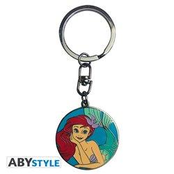 Metal Keychain - Ariel