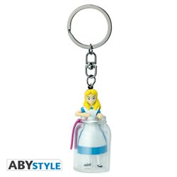 3D Keychain Bottle - Alice