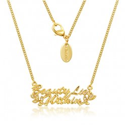 """Beauty Lies Within"" Necklace - Beauty & the Beast"