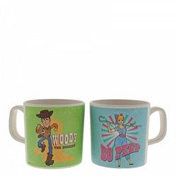 Bamboo Mug Set - Woody & Bo-Beep
