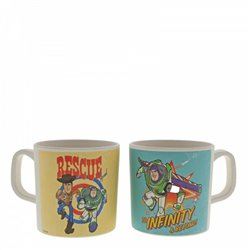 Bamboo Mug Set - Woody & Buzz Lightyear