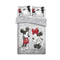 Dekbedovertrek Cartoon - Mickey & Minnie