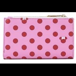 Loungefly Pink Polka Dot Wallet - Minnie