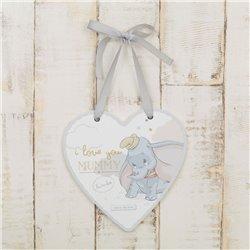 Magical Beginnings Heart Plaque Mummy - Dumbo