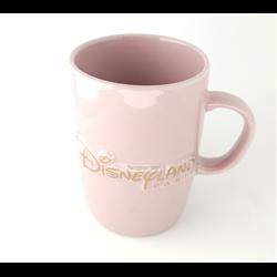 Disney Park Castle Mug Pink
