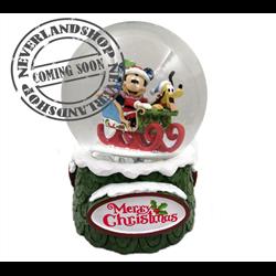 Snowglobe Merry Christmas - Mickey & Pluto