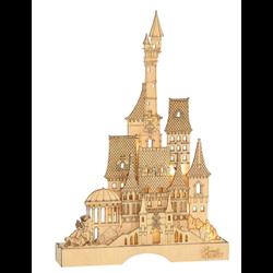 Illuminated Castle - Beauty & the Beast