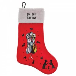On The Bad List  Stocking - Cruella De Vil