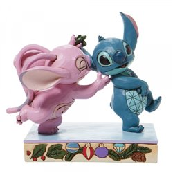 Under Mistletoe - Angel & Stitch