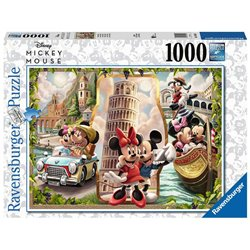 Vacation Puzzel - Mickey & Minnie