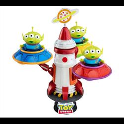 Diorama UFO Spin - Aliens