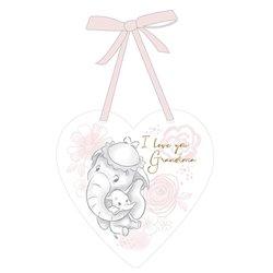 Magical Beginnings Heart Plaque Grandma - Dumbo