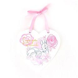 Magical Beginnings Heart Plaque Love - Bambi