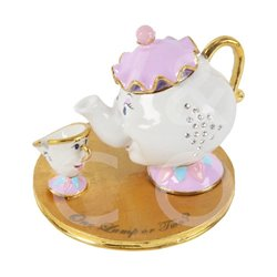 Trinket Box - Mrs Potts & Chip