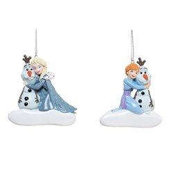 9068 Relief Ornament - Frozen