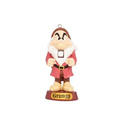 9052 Nutcracker with Gifts Ornament - Grumpy
