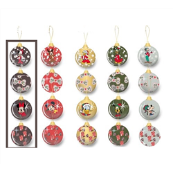 Set of 4 Baubles - Fab 5