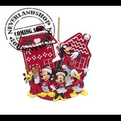 9316 2D House Ornament - Mickey & Co
