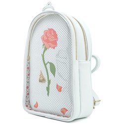Loungefly Pin Trader Backpack - Rose