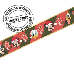 Ribbon 10 Meter Red & Green - Mickey & Co