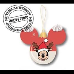 9303 Glass Ears Ball - Mickey