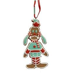 9318 2D Gingerbread Ornament - Goofy