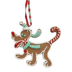 9319 2D Gingerbread Ornament - Pluto