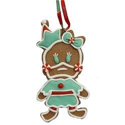 9320 2D Gingerbread Ornament - Daisy