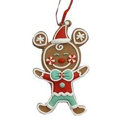 9322 2D Gingerbread Ornament - Mickey