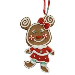 9323 2D Gingerbread Ornament -  Minnie