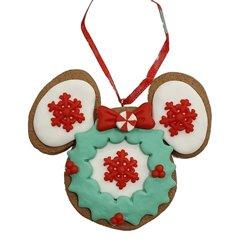 9325 2D Gingerbread Icoon Ornament - Minnie