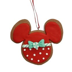 9326 2D Gingerbread Icoon Ornament - Mickey