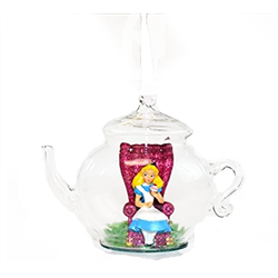 8092 3D Figuur in Dome/Theepot - Alice