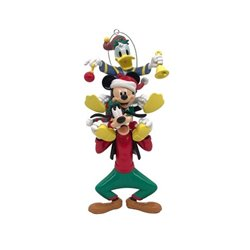 9327 3D Ornament - Donald, Goofy & Mickey