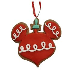 9328 2D Gingerbread Icoon Ornament - Mickey