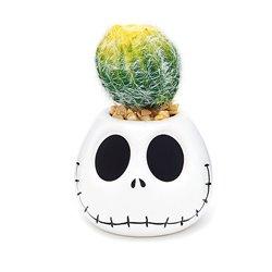Artificial Potted Plant - Jack Skellington