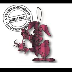 9398 Metal Ornament - March Hare