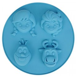 Siliconen Bakvorm & Receptboek - Frozen