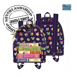 Loungefly Mini Backpack Books - Princess