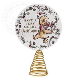 X21 Treetopper Merry Christmas - Pooh