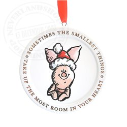 X21 Christmas Quotes Ornaments - Piglet