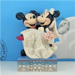 Cake Topper Congratulations - Mickey & Minnie