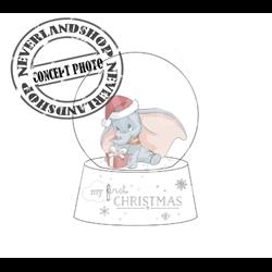 1st Christmas Snowglobe - Dumbo