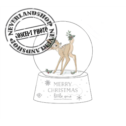 1st Christmas Snowglobe - Bambi