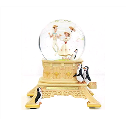 DeLuxe 55th Anniversary SnowGlobe - Mary Poppins