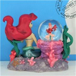 Kleine Snowglobe Sebastian 11cm - Ariel